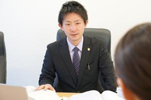 デイライト法律事務所橋本相談風景
