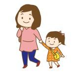 母子のイメージイラスト